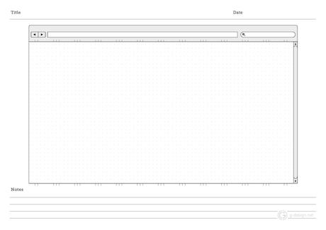 wrks rmblgs web design wireframe templates. Black Bedroom Furniture Sets. Home Design Ideas